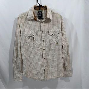 3 FOR $15 Billabong Men's Medium Slim Fit Shirt